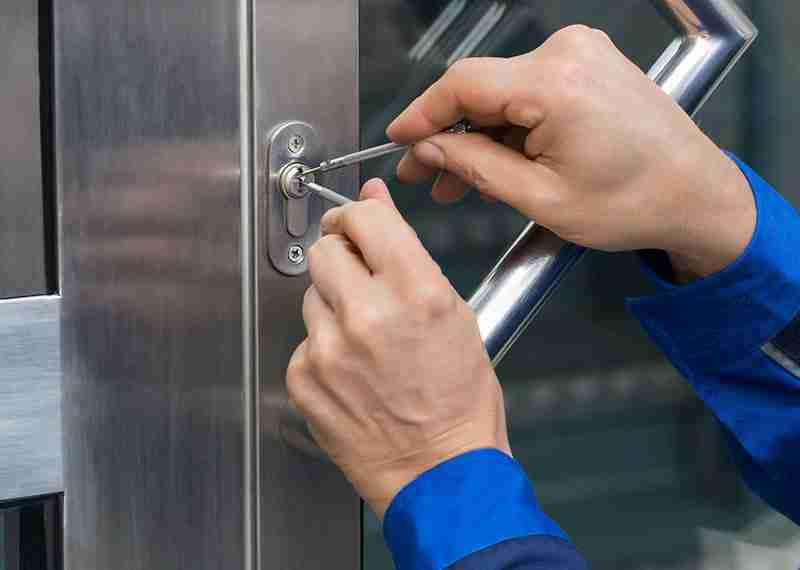 apertura serratura bloccata