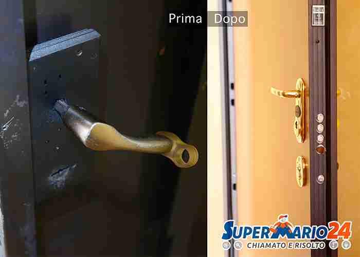 Cambia la serratura della porta blindata con SuperMario24