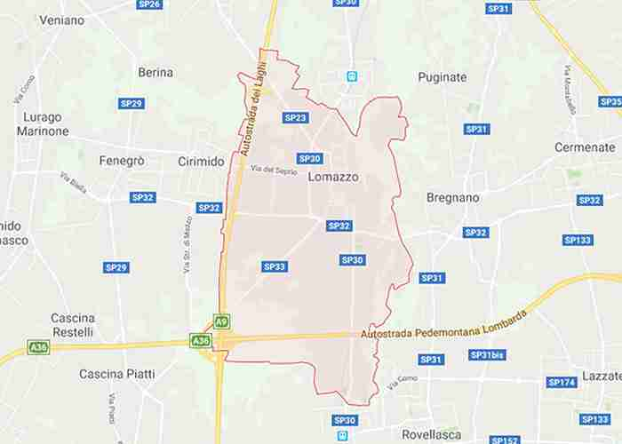 Lomazzo provincia Como