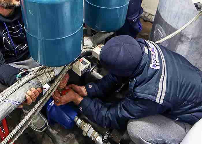 Installazione e manutenzione del motore della caldaia