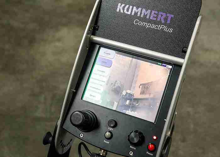 Monitor per video ispezioni tubature
