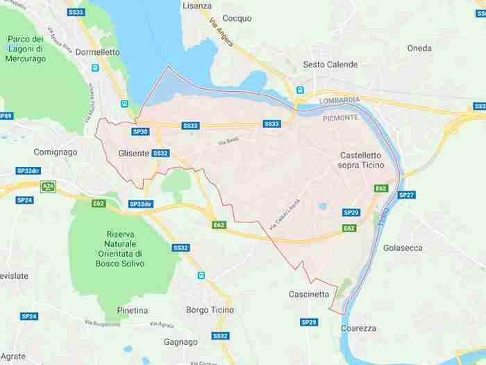 Castelletto sopra ticino provincia Novara