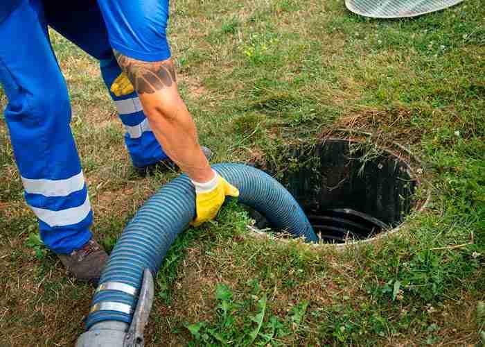 supermario24 pulizia fossa biologica nel giardino