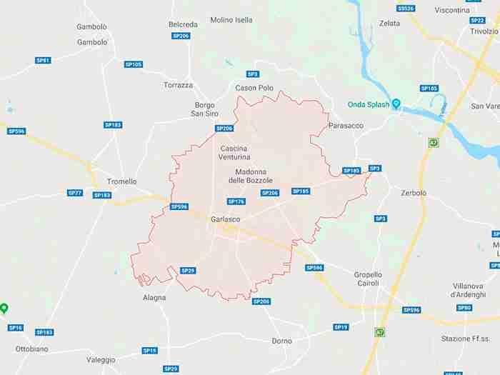 Garlasco provincia Pavia