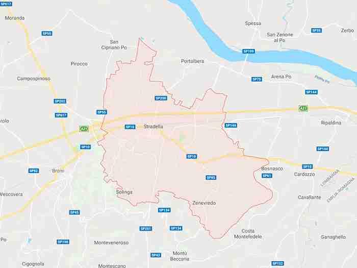 Stradella provincia Pavia