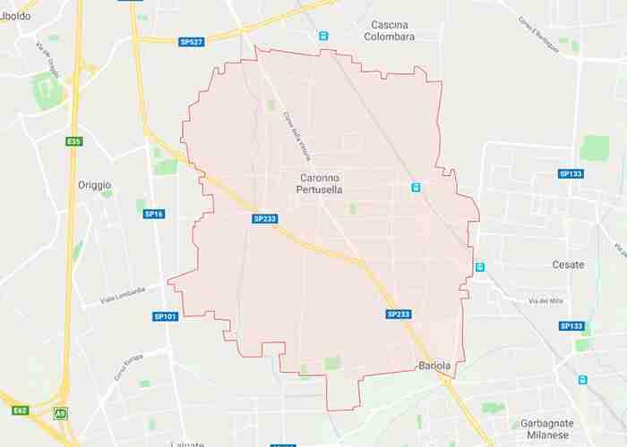 Caronno Pertusella provincia di Varese