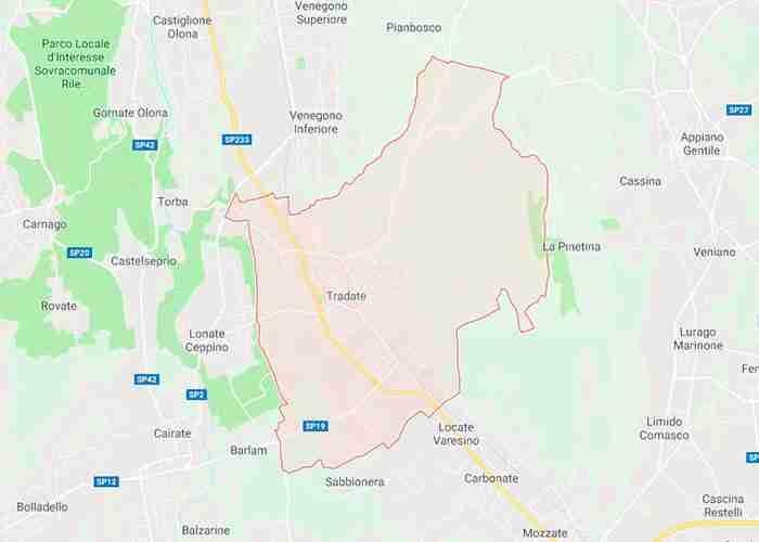 Tradate provincia di Varese
