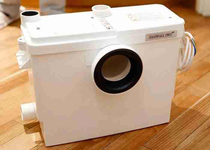 Assistenza e manutenzione trituratore per wc